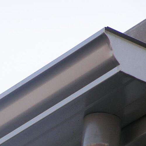 Polyline 8 inch dakgoot